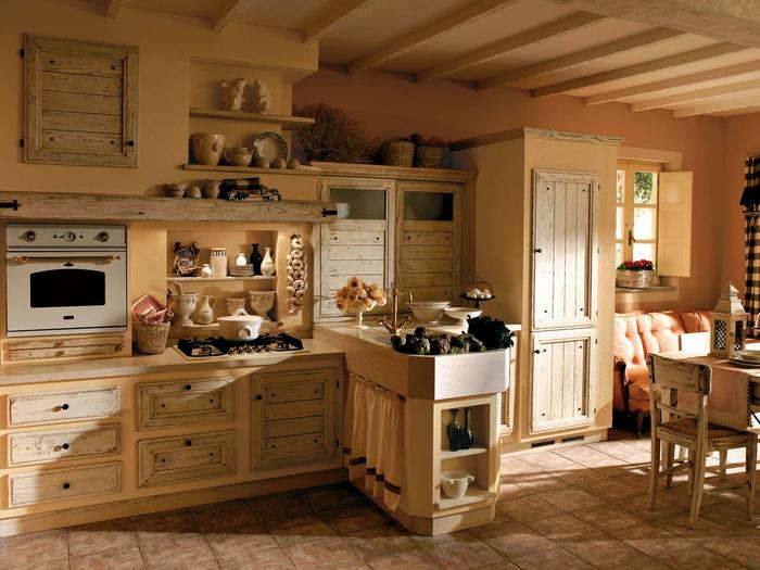 Dom w stylu rustykalnym – meble drewniane