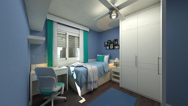 Projekt wnętrz pokoju dziecięcego